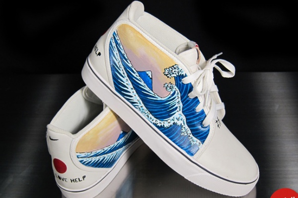nike toki tsunami japan twitch 7 1 Nike Toki x Twitch Japan Relief Sneaker