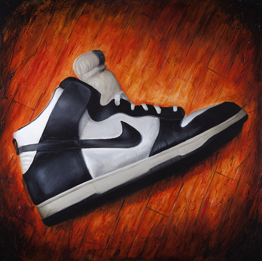 Sneaker Paintings by Joe DeLorenzo 4 Sneaker Paintings by Joe DeLorenzo