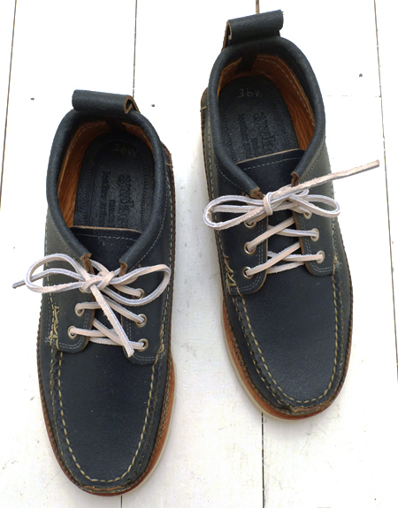 yuketen wax flesh blue maine guide oxford shoe ss2011 the bureau 1 Yuketen Wax Flesh Blue Maine Guide Oxford Shoe