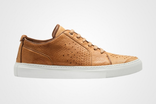 Yves Saint Laurent Leather Camel Sneaker