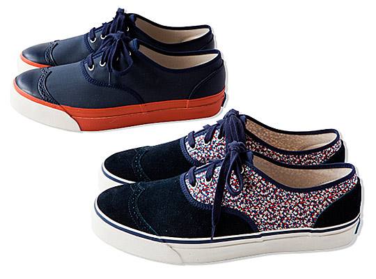 British Millerain Sneakers by CASH CA Keds Liberty 8 Sneakers by CASH CA & Keds