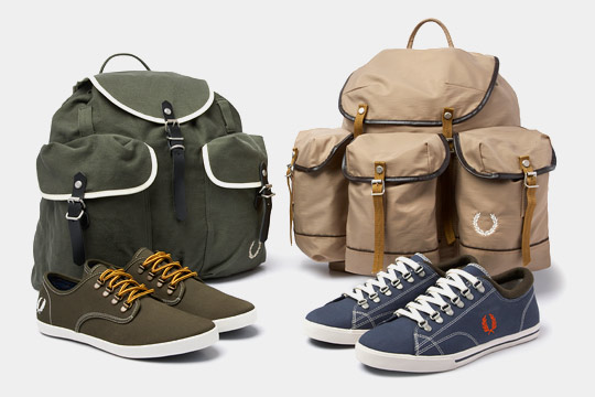 Fred Perry 'Rambling' Footwear and Accessories Fred Perry The Great British Outdoors Rambling Footwear & Bags