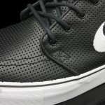 Nike SB Stefan Janoski Premium in Black Perforated Leather 04 150x150 Nike SB Stefan Janoski Premium