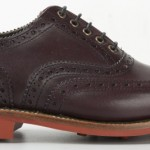 Egton Burgundy 150x150 Barbour x Grenson Autumn/Winter Collection