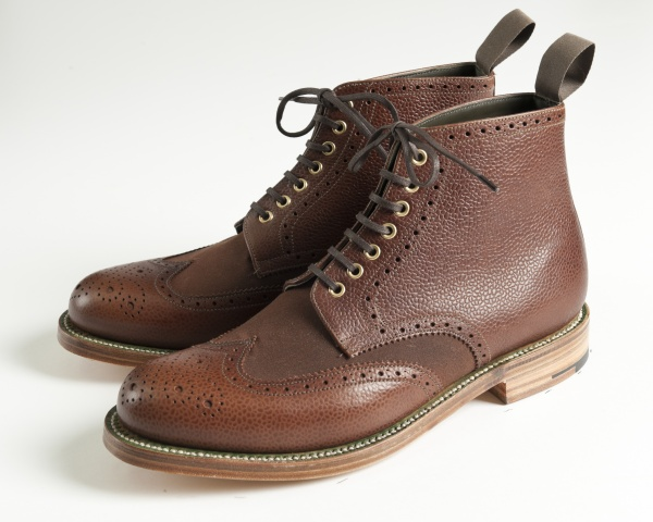 SS12 533 Barbour x Grenson Autumn/Winter Collection