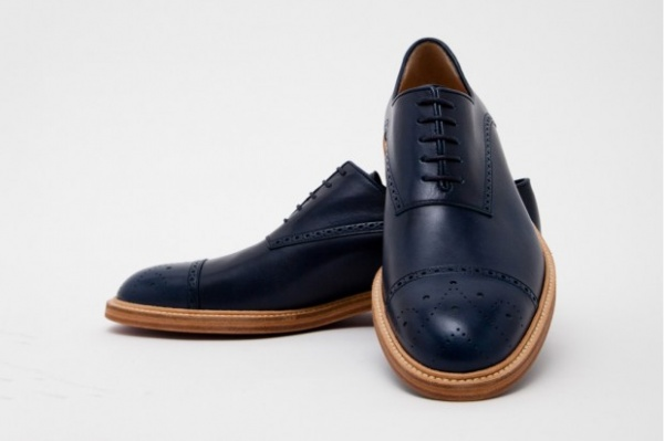 band of outsiders classic shoes blue navy Band of Outsiders Classic Shoes Blue Navy