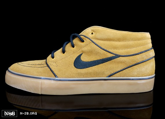 nike sb janoski wheat 2 Nike SB Stefan Janoski   Wheat Summer 2012 Preview