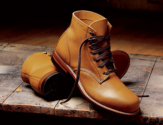 wolverine 1000mile boots 1 More Wolverine 1000 Miles Boots for Autumn 2011