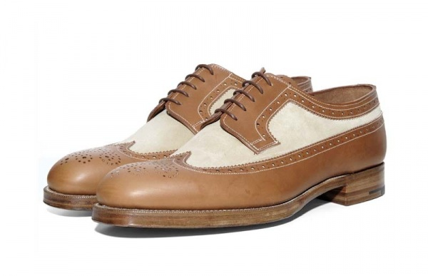 Grenson Heritage Research Long Wing Brogue 1 Grenson x Heritage Research Long Wing Brogue