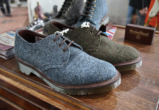 dr martens boots fall winter 2012 23 Dr. Martens Harris Tweed, Pendleton, Stussy for Autumn/Winter 2012 Part 1