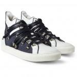 183386 mrp fr l 150x150 Raf Simons Lace Strapped High Top Sneaker