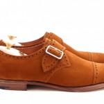 DSC 0004 500x332 150x150 Edward Green Tobacco Suede Arlington Single Monk Strap Shoe