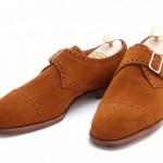 DSC 0007 500x332 150x150 Edward Green Tobacco Suede Arlington Single Monk Strap Shoe