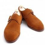 DSC 0008 500x332 150x150 Edward Green Tobacco Suede Arlington Single Monk Strap Shoe