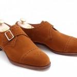 DSC 0009 500x332 150x150 Edward Green Tobacco Suede Arlington Single Monk Strap Shoe
