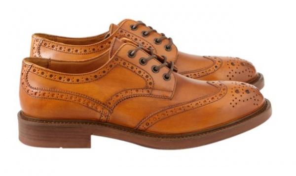 Antonio Maurizi Volterra Cognac Shoes - Antonio Maurizi Shoes and Boots