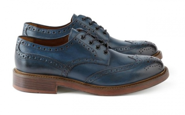 Mr. Bs Adamis Brogue Navy Mr. Bs Adamis Brogue Shoe