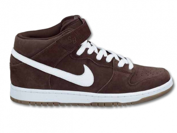 Nike SB Dunk Mid Brogue Brown2 Nike SB Dunk Mid Brogue Brown