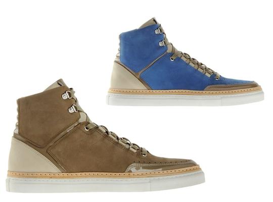 Giuliano Fujiwara High Top Sneakers SpringSummer 2012