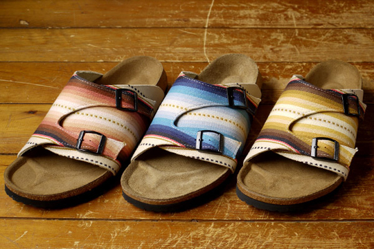 tatami standard california sandals 1 Tatami x Standard California Mexican Blanket Pilica Sandals