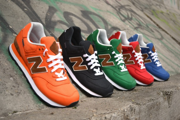 new balance 2012 fall m574 backpack collection 1 New Balance Fall 2012 M574 Backpack Collection