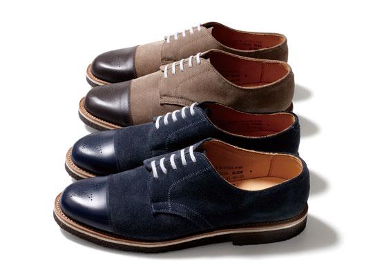 nexusvii george cox officer shoes 0 NEXUSVII x George Cox Officer Shoe