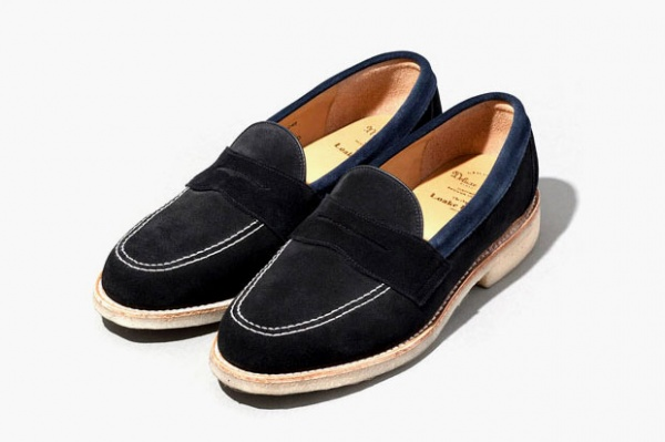 deluxe loake penny loafer 1 Deluxe x Loake Penny Loafer