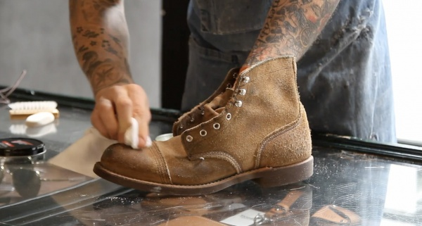 Red Wing Amsterdam Shoe Care Video Video: Red Wing Amsterdam Shoe Care