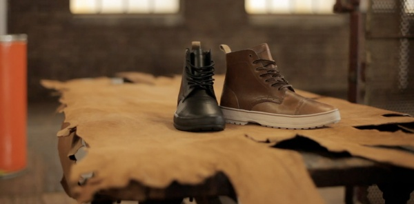 Vans Off The Wall Horween Leather Video Video: Vans x Horween Leather