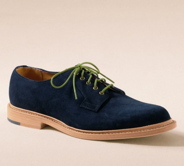 allen edmonds lands end stewart shoes 2 630x570 Allen Edmonds Stewart Navy Suede Shoe For Lands End