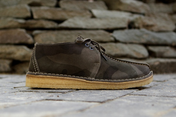 clarks originals 2012 fallwinter camo collection 1 Clarks Originals 2012 Fall/Winter Camo Collection