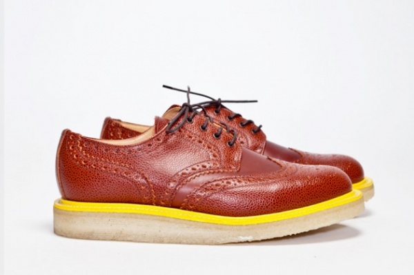 tres bien mark mcnairy 4 630x419 Tres Bien x Mark McNairy Gibson & Mixed Brogue Fall/Winter 2012