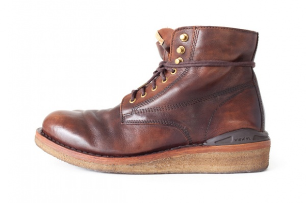 visvim 2012 fall winter virgil boot 1 Visvim Fall/Winter 2012 Virgil Crepe Boot