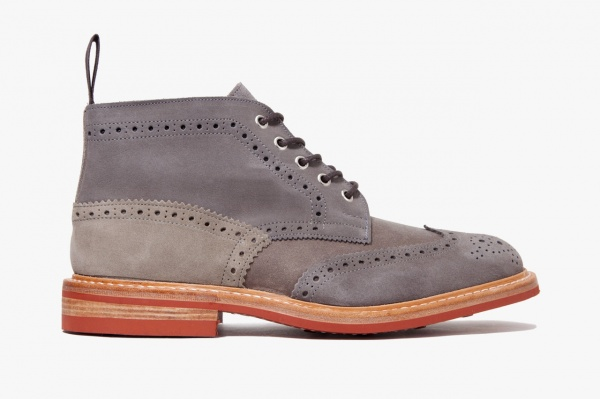 cash ca x trickers 2012 fall winter derby boots 1 CASH CA x Trickers Fall/Winter 2012 Boots