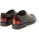 332471 mrp bk xl 150x150 Paul Smith Chuck Burnished Leather Oxford