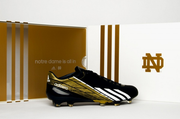 notre dame adidas adizero 5 star national champ game 1 Notre Dame adiZero 5 Star 2.0 To Premiere During BCS Championship