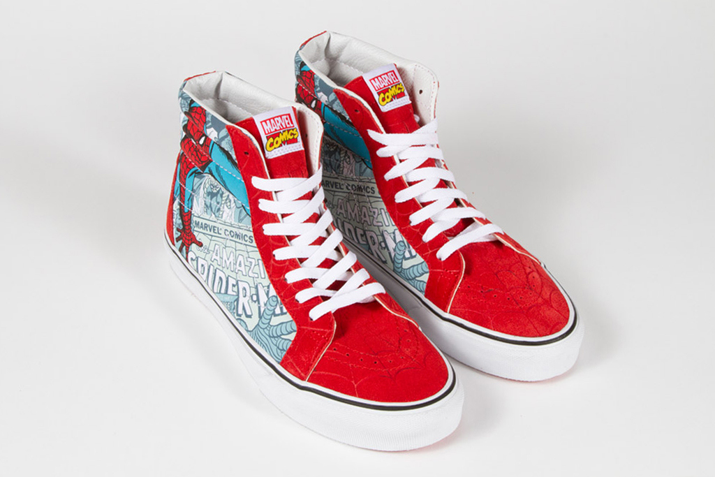 marvel x vans classics 2013 spring collection 2 Marvel x Vans Classic Spring 2013 Collection