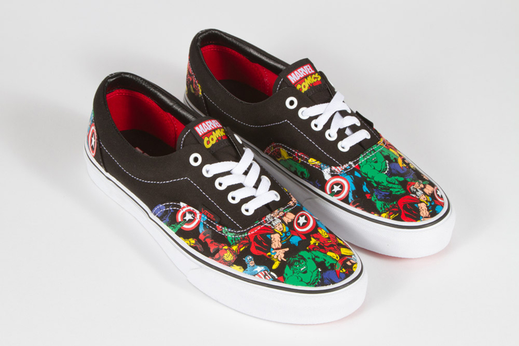marvel x vans classics 2013 spring collection 4 Marvel x Vans Classic Spring 2013 Collection