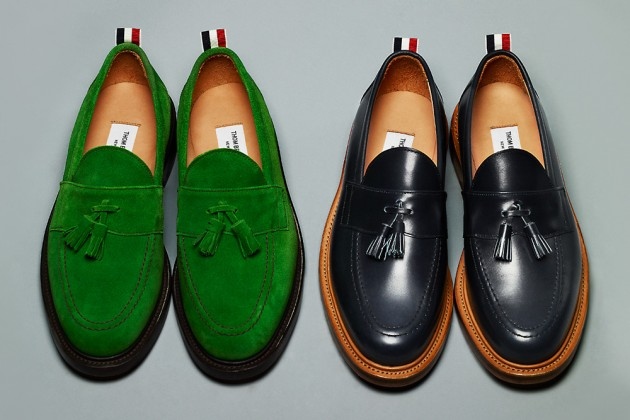 thom browne ss13 shoes 3 630x420 Thom Browne Spring/Summer 2013 Footwear Collection