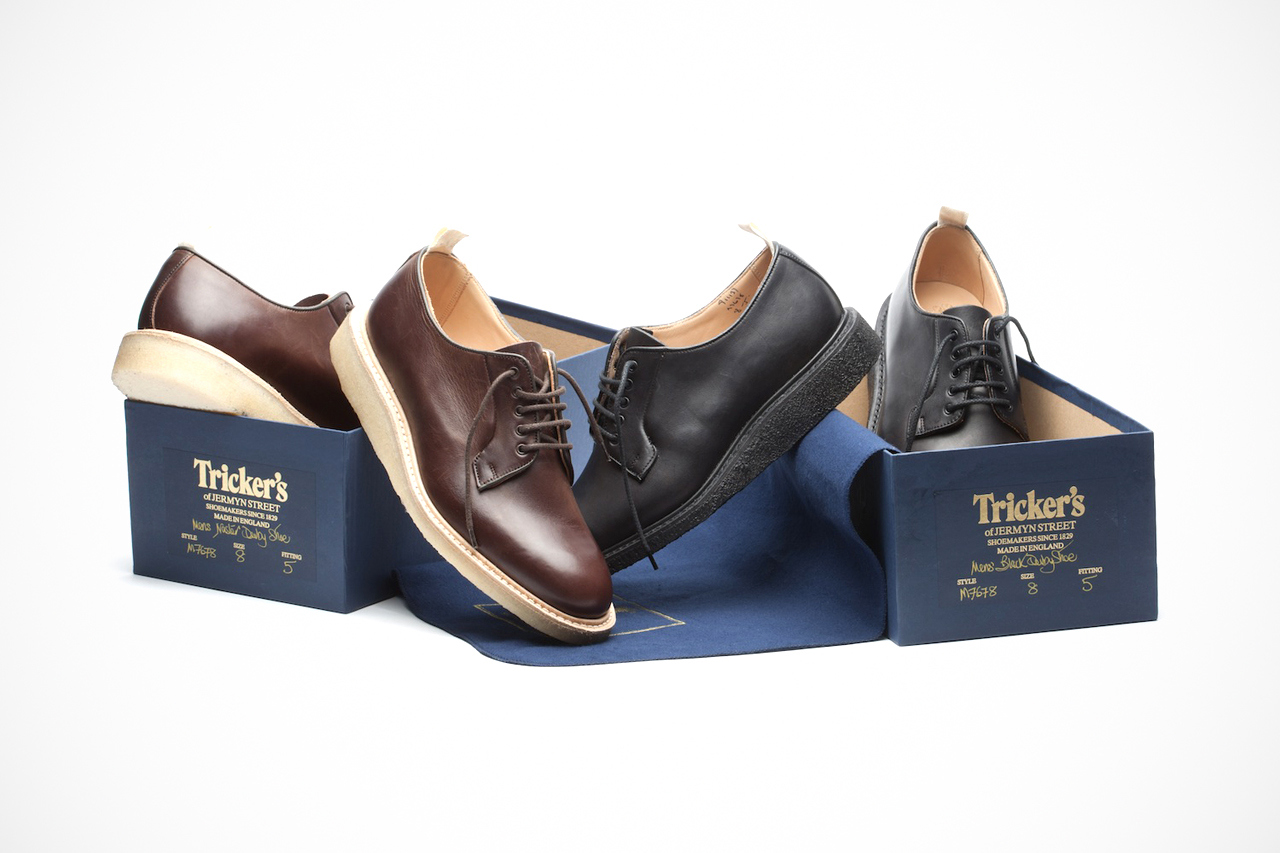 trickers for norse projects bluncher shoe 1 Trickers for Norse Projects Blucher Shoe