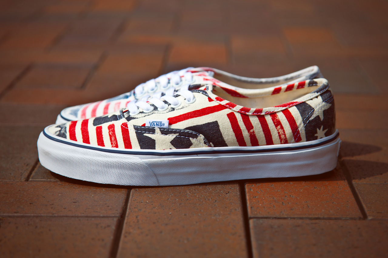 vans ca van doren series 2013 spring retro flag 1 Vans California Van Doren Series Authentic CA Retro Flag