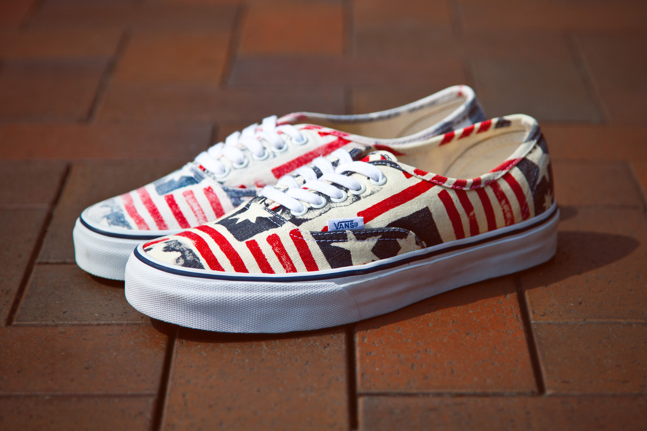 vans ca van doren series 2013 spring retro flag 2 Vans California Van Doren Series Authentic CA Retro Flag