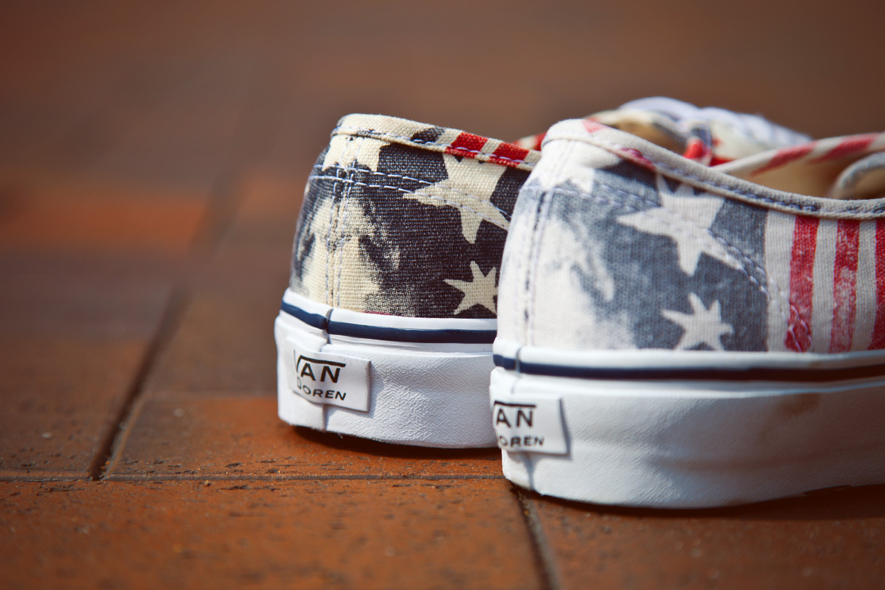 vans ca van doren series 2013 spring retro flag 4 Vans California Van Doren Series Authentic CA Retro Flag