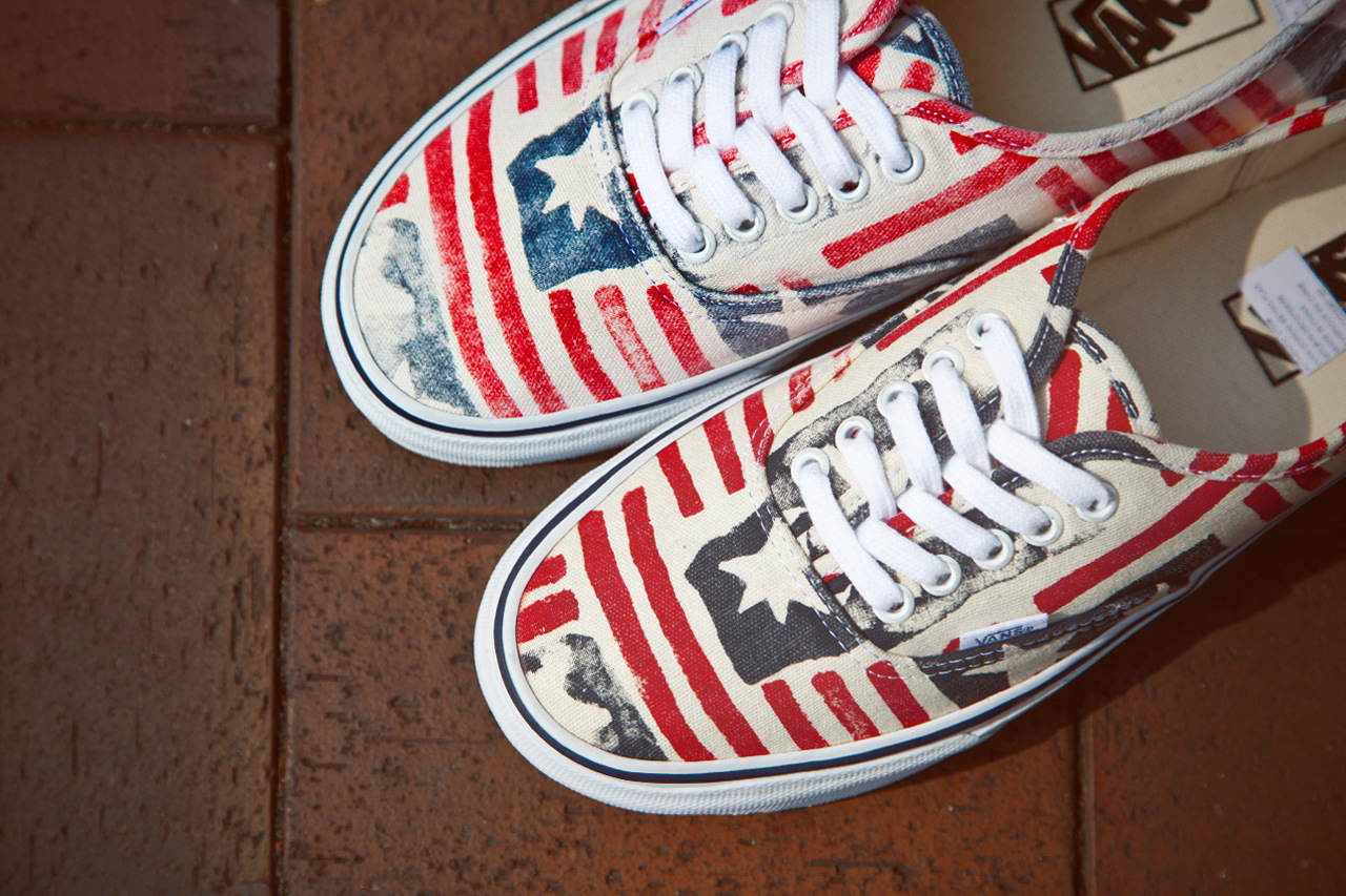 vans ca van doren series 2013 spring retro flag 5 Vans California Van Doren Series Authentic CA Retro Flag