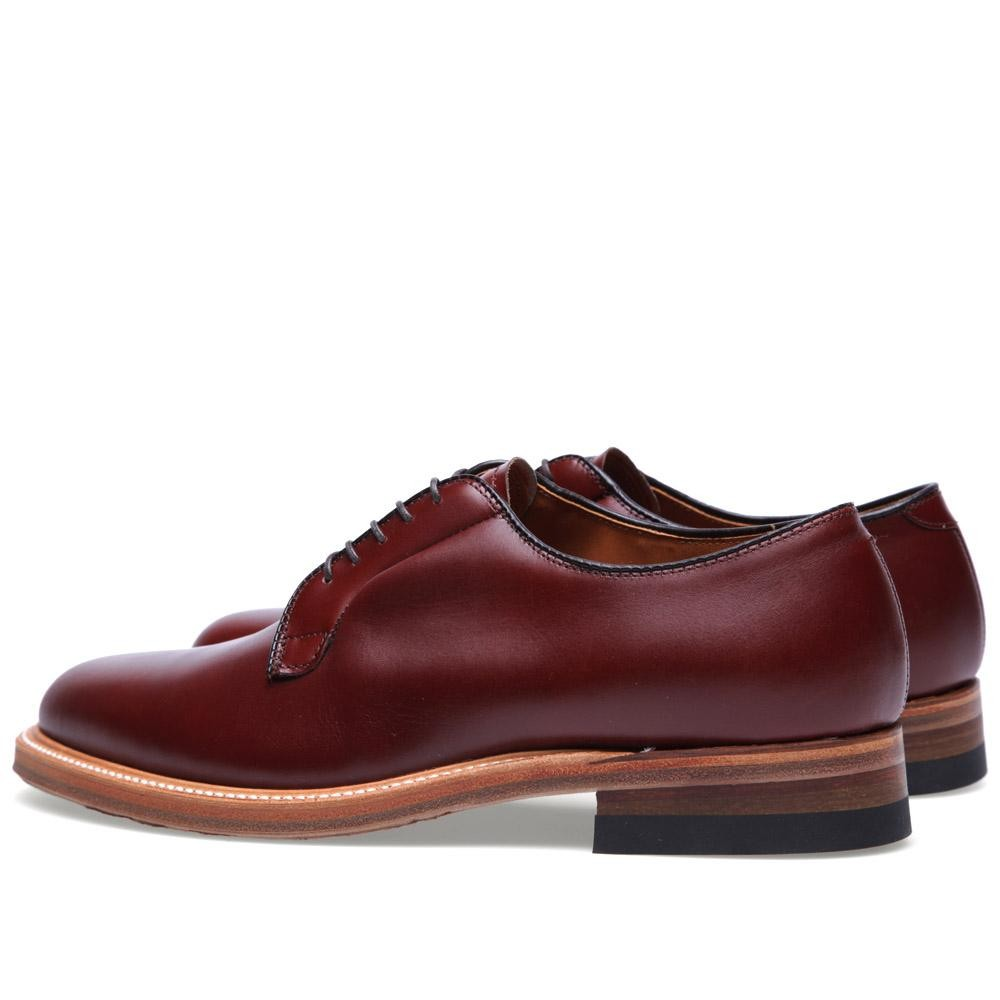 01 03 2013 alden plaintoeblucher madisonbrown d2 Alden Plain Toe Blucher Shoe