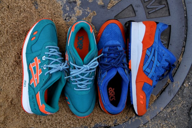 ronnie fieg asics gel lyte 3 new york miami beach 1 630x420 Ronnie Fieg x ASICS Gel Lyte III New York & Miami Sneakers