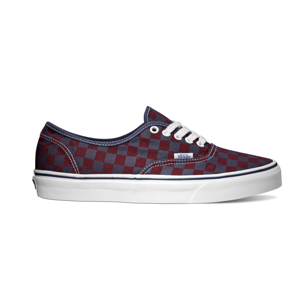 Vans Classics Authentic Van Doren Checker Port Royale Fall 2013 Vans Classic Van Doren Series 2013