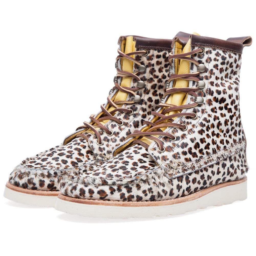 16 07 2013 yuke mocboot leopard1 Yuketen Maine Guide Boot