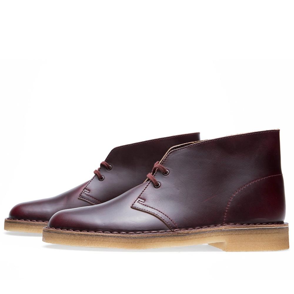 25 07 2013 clarks horweenleathercompanydesert burgundy 2 1 Clarks Originals x Horween Leather Company Desert Boot
