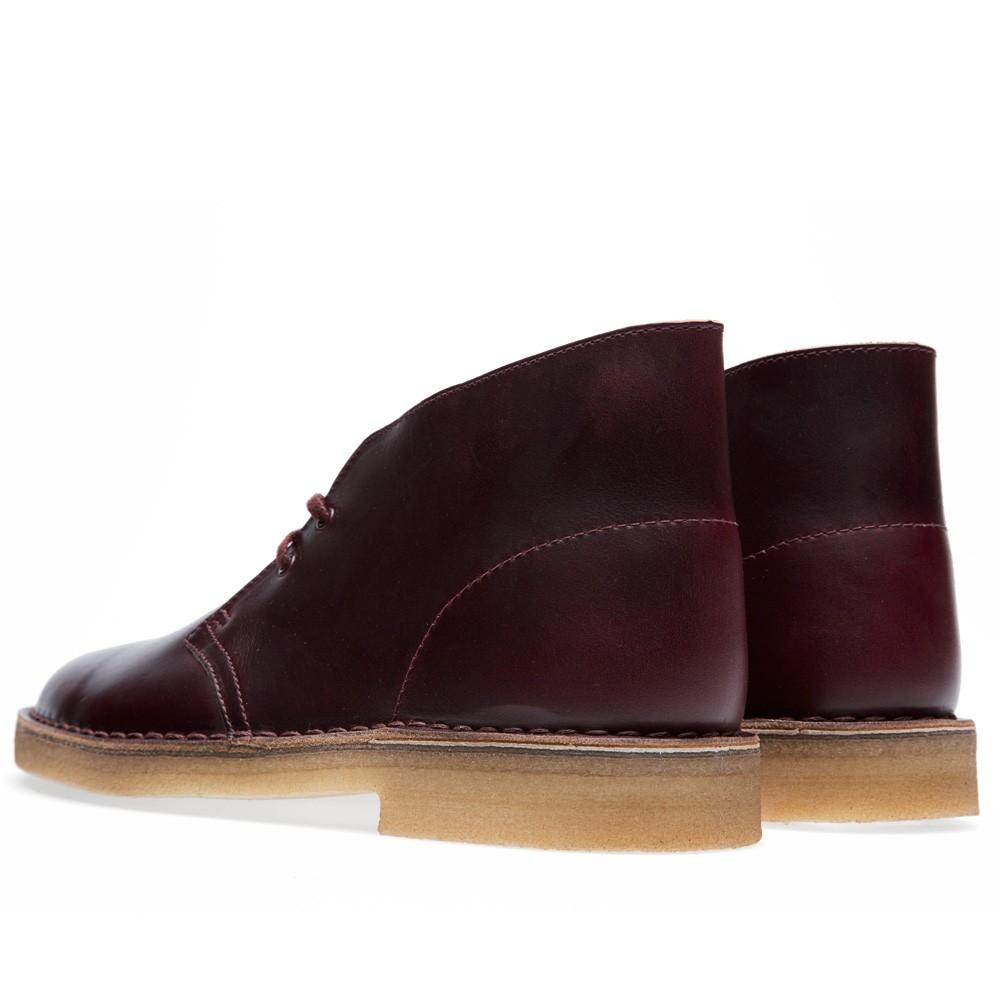 25 07 2013 clarks horweenleathercompanydesert burgundy 3 1 Clarks Originals x Horween Leather Company Desert Boot